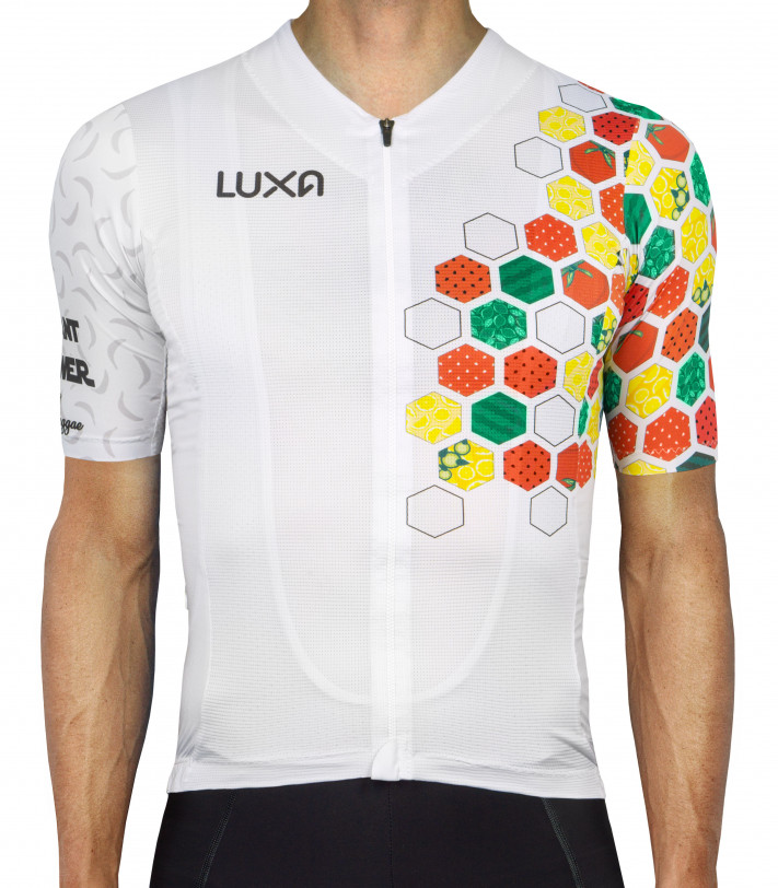 Pure Plant Power Cycling Jersey inspired by vegan diet