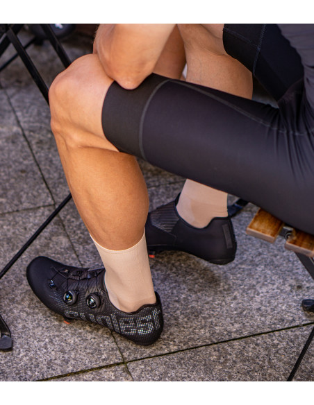 latte cycling socks perfect for a group coffee ride. Cafe stop during the ride