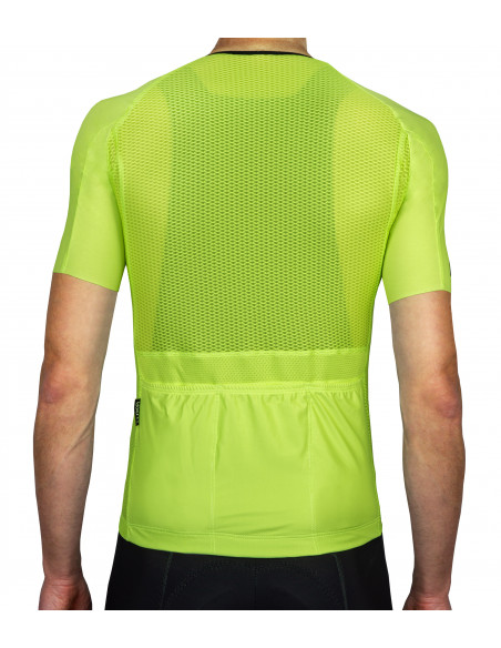 efficient heat dissipation in Luxa Canarian Summer jersey for riding in the heat