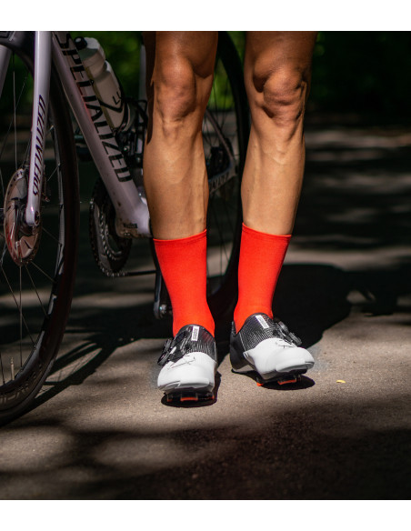 Socka are made in Poland from ecological PROLEN®YARN fabric. Suplest road pro shoes on the picture
