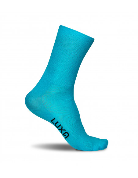 Classic Turquoise Cycling Socks