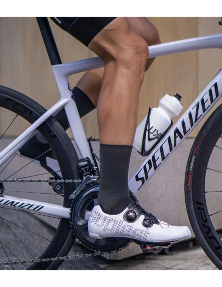 road cyclist wear Luxa gray socks
