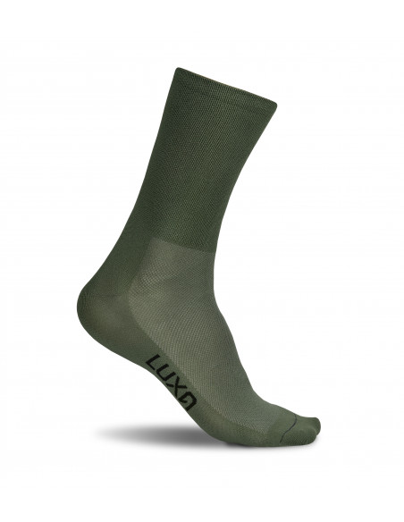 Classic Khaki Luxa Cycling Socks