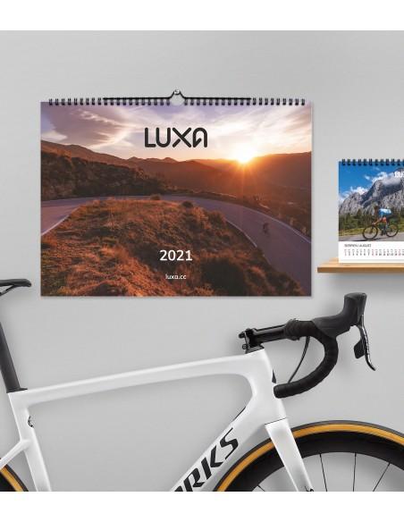 piękny kalendarz kolarski z unikalnymi zdjęciami