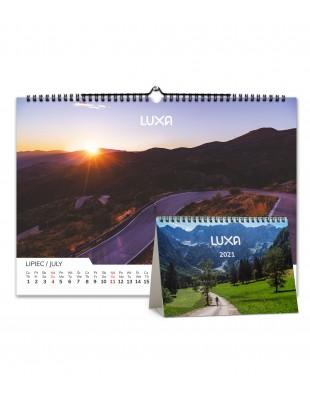 Kalendarz kolarski Luxa 2021