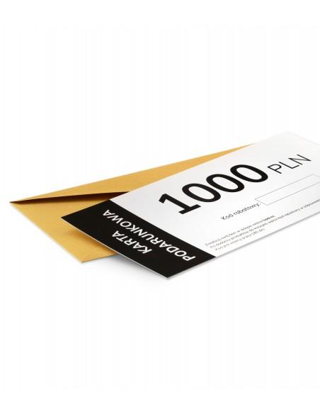 najwyższa wartość kolarskiej karty podarunkowej Luxa to 1000 zł