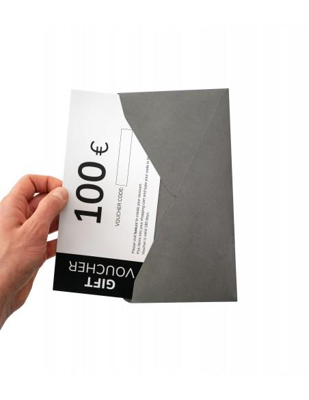 voucher pakowany w elegancką kopertę