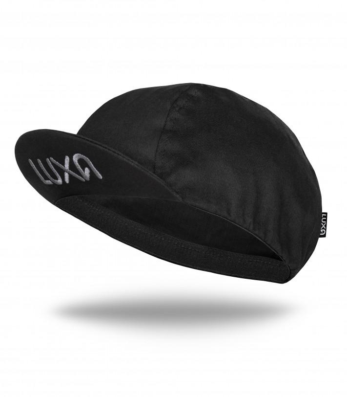 Classic Black Cycling Cap
