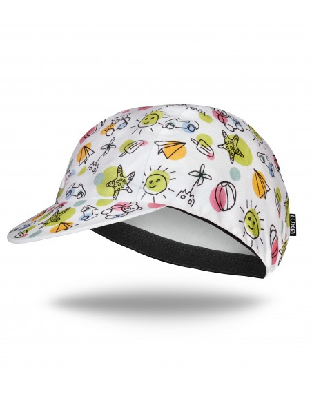 childhood memories design of the Luxa cycling cap