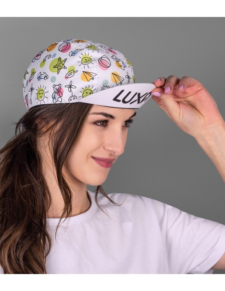 What's your favorite childhood memory? Bold look cap for man and woman