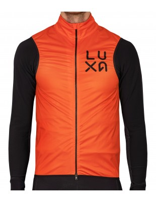 Luxa Orange Vision Cycling Gilet