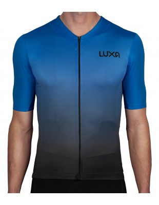 Galaxy Blue Cycling Jersey made by Luxa