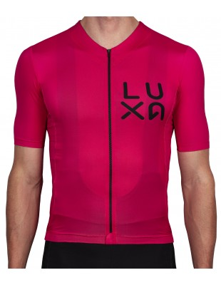 Rising Magenta Cycling Jersey