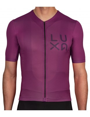 Rising Purple Luxa Cycling Jersey