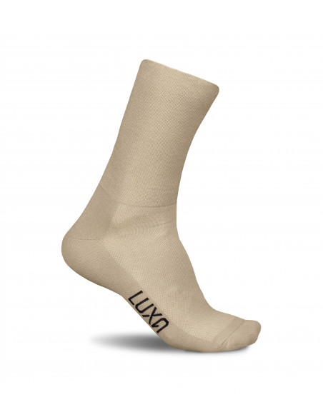 Beige / Gold Socks