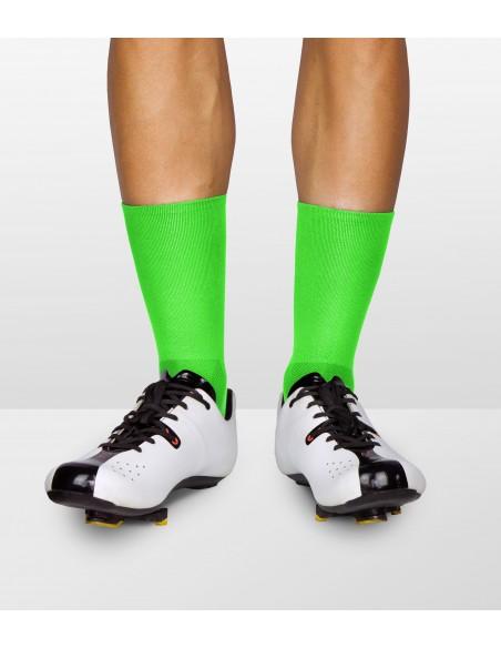 odbijające światło zielone włókna w kolorze fluorescencyjnym fluo