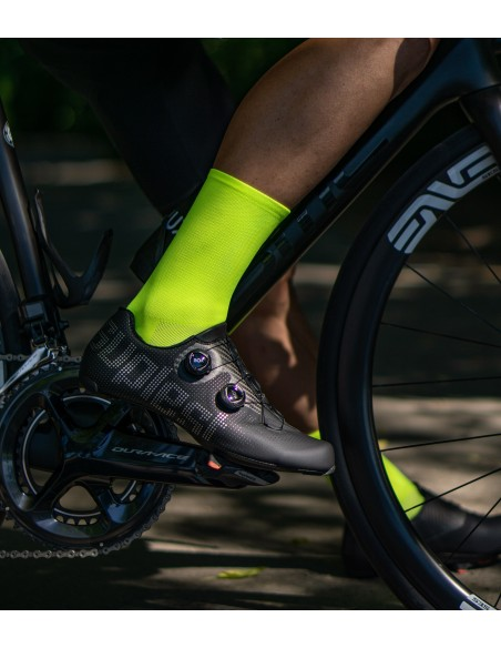 classic fluo socks for men and women cyclists
