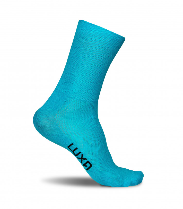 Classic Turquoise Cycling Socks