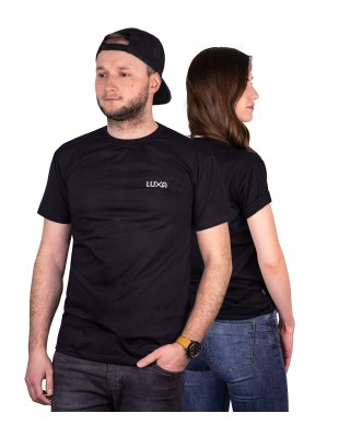 all black unisex t-shirt made of 100% luxury cotton