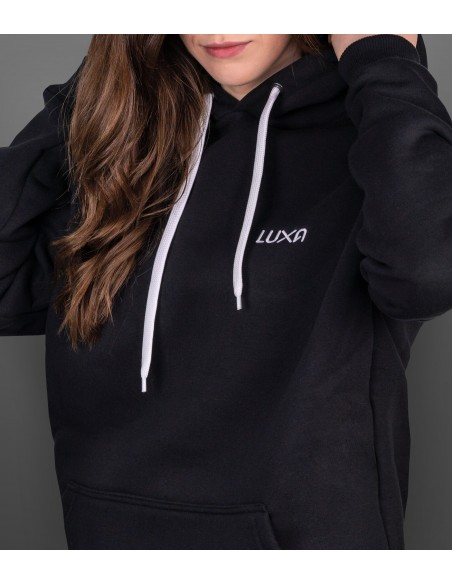 clean black hoodie look for your off bike everyday life