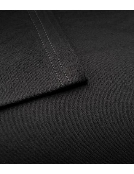 czarna bawełna o gramaturze 180g koszulka uszyta w polsce