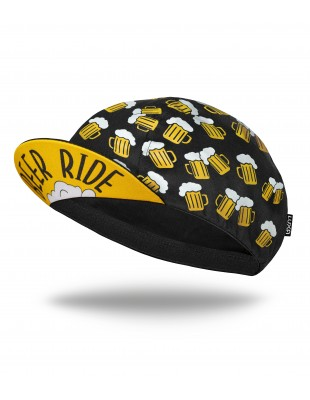 Beer Ride Cycling Cap