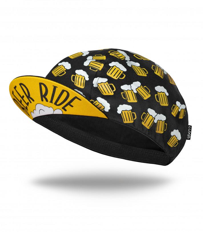 Beer Ride Cycling Cap