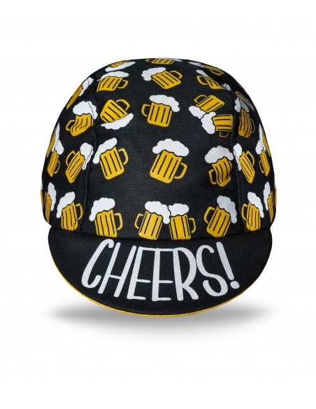 Beer Ride cycling cap made in Europe