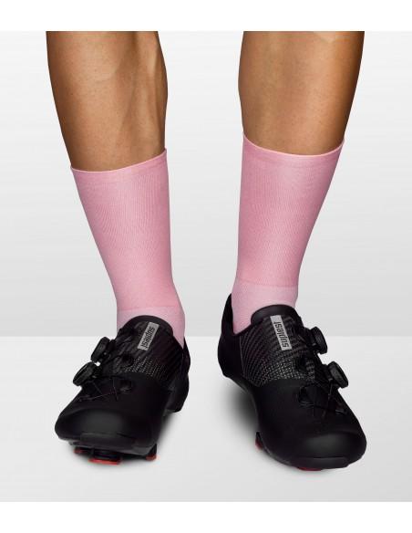 całe różowe skarpety rowerowe Luxa uszyte w polsce