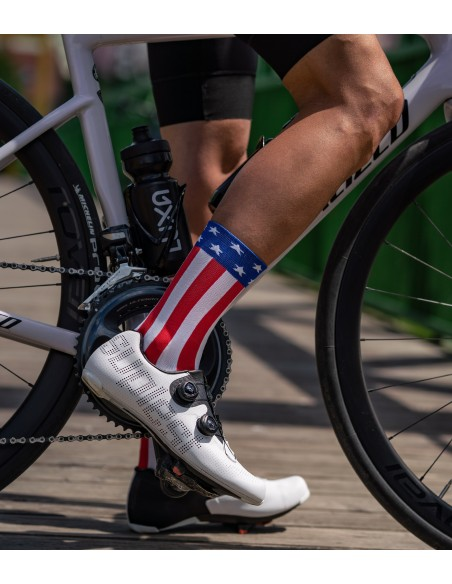 support USA by limited cycling socks edition made by Luxa