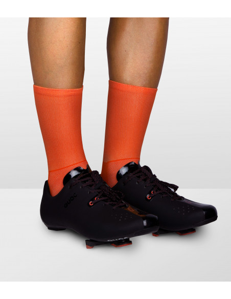 Luxa Cycling Socks and Quoc black road cycling shoes