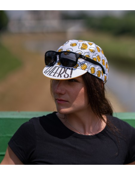 Enjoy and bond with your cycling buddies by wearing Beer Ride Cap
