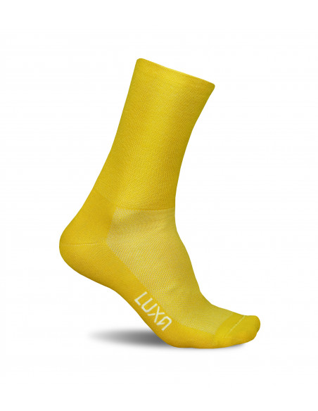 Sunrsie Yellow cycling socks. Made in Europe (Poland)