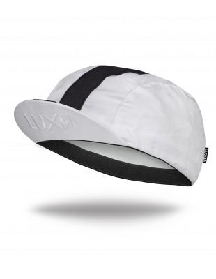 biała czapeczka Kolarska Classic Stripe White
