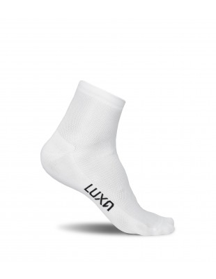 Classic White Short Cycling Socks