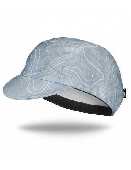 Gravel Cotton cap inspired by classic map