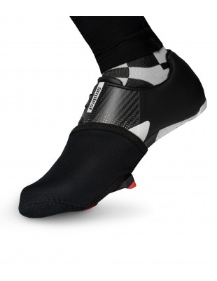 Classic Black Toe Cover for road cyclists
