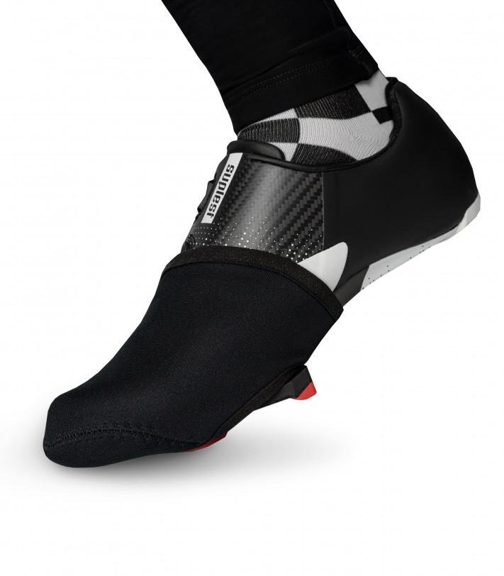 Ochraniacze na palce Classic Black na buty rowerowe (szosowe)