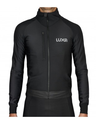 Cycling essential in winter season. Midnight Jacket by Luxa