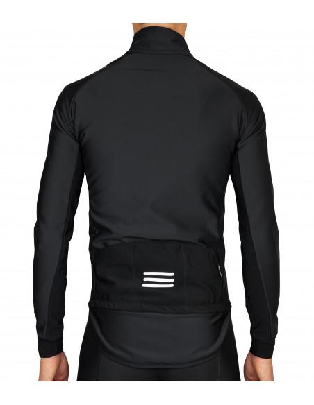 """""""zimo-odporna"""" konstrukcja i rozwiązania materiałowe w kurtce Luxa. Odblaskowa wstawka"""