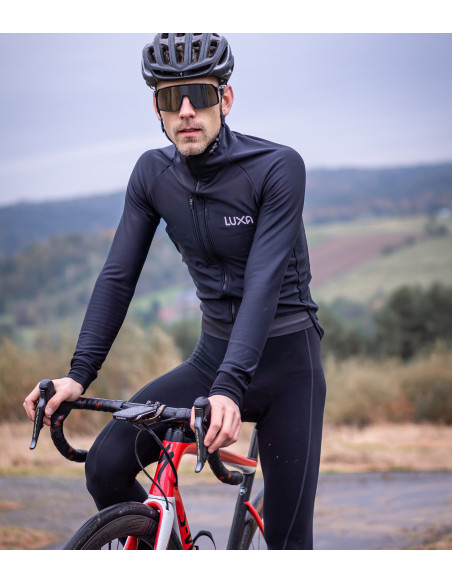 bad weather for cycling is not exist. Wear good winter apparel to keep warm and dry
