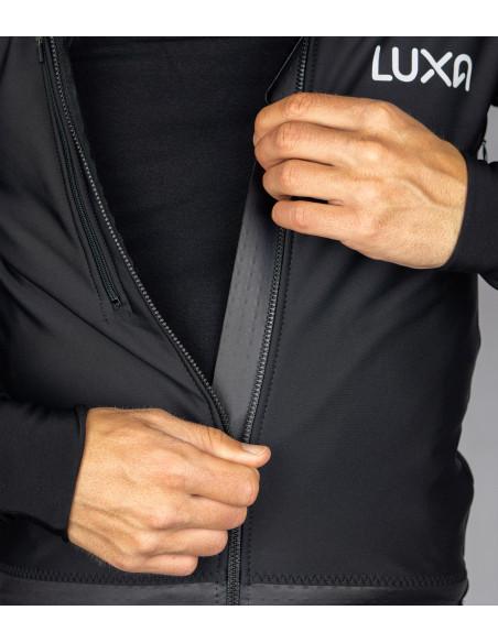 bielizna rowerowa zalecana jako pierwsza warstwa od skóry pod zimową kurtkę lub bluzę