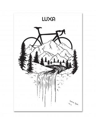 "Cycling Poster ""Górska Szosa"""
