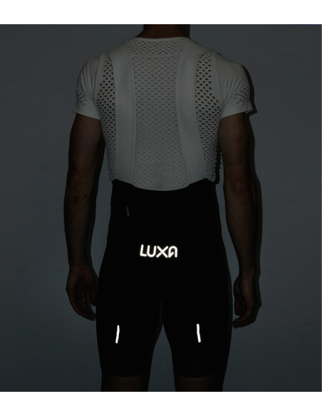 The reflective elements are intended to improve the visibility on the road when you cycling in the dark.