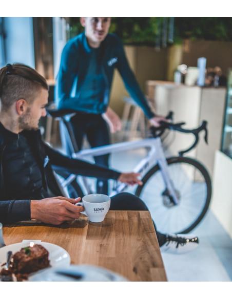 Przerwa na kawę w czasie jazdy rowerem zawsze wskazana.