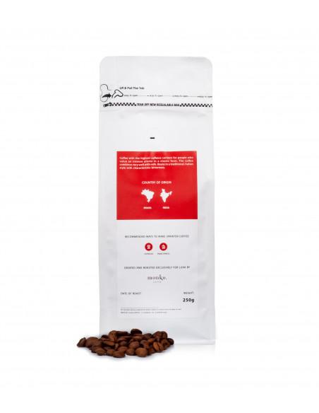 Premium beans with high caffeine content. Luxa Sprinter Coffee