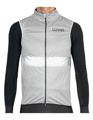 Luxa Shining Night relfective Cycling Gilet