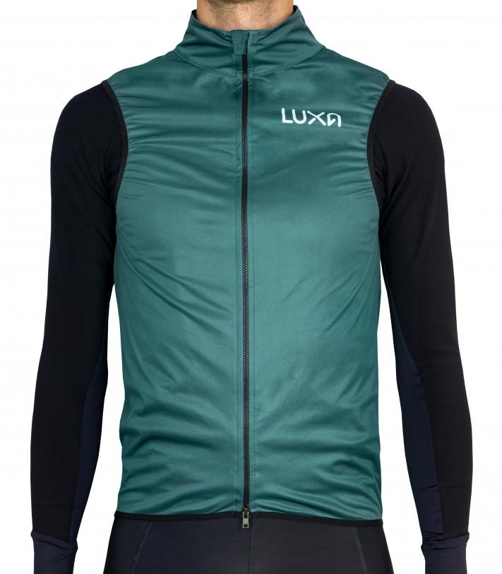 Zielona Kamizelka rowerowa Luxa Verde