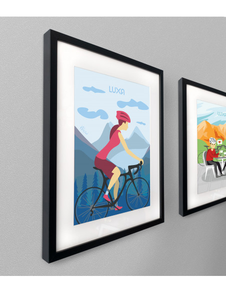 Cycling print is great gift idea for bike lover
