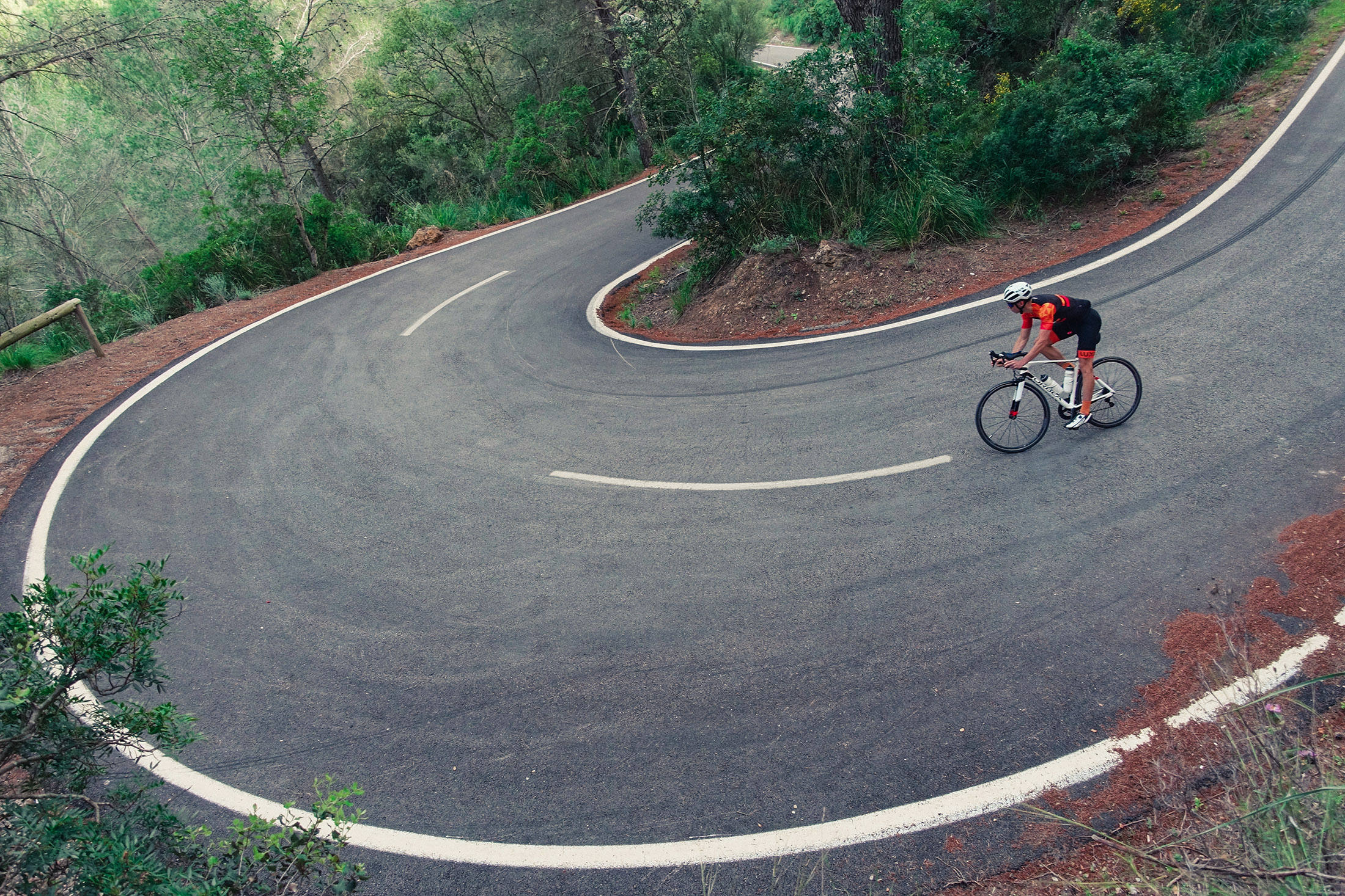 switchback on Mallorca - cycling paradise recommend on winter cycling training camp